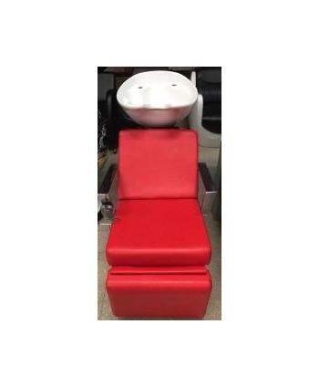 Lavacabezas eléctrico oferta rojo
