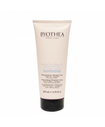 Crema iluminadora masaje cara Byothea