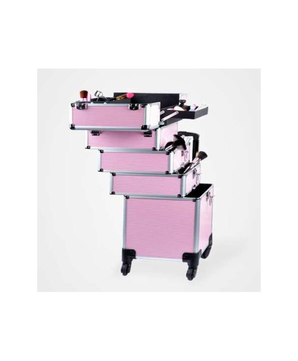 Detalle maletín Space rosa de Perfect Beauty