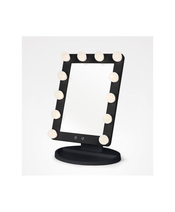 Espejo Light Stage negro