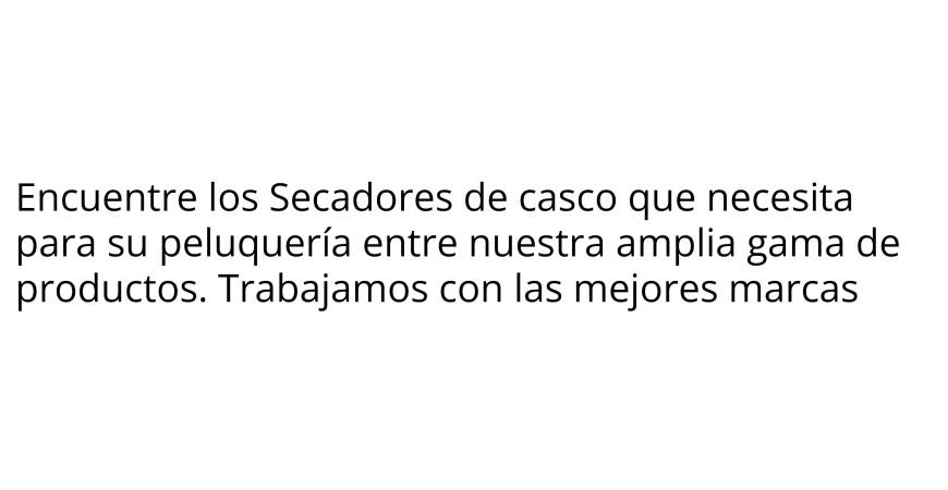 Secadores de casco - Eléctricos Peluquería - SaforCosmetics